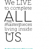 Thumbnail image for Live Your Masterpiece