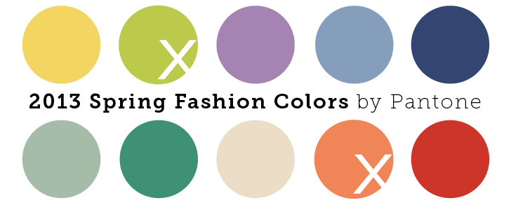 Post image for Spring Colors 2013: Soothing Neutrals & Energizing Brights